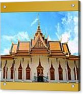 Cambodian Temples 2 Acrylic Print