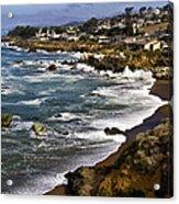 Cambria Coastline Acrylic Print