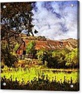 Cambria Farmland Acrylic Print