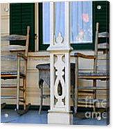 Cambria Squibb House Rocking Chairs Acrylic Print