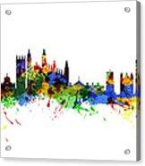 Cambridge England Acrylic Print