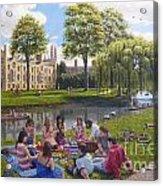 Cambridge Summer Acrylic Print