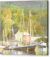 Camden Harbor Maine Acrylic Print