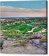 Camel Back Mountain Panoramic Acrylic Print