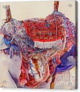 Camel Saddle Acrylic Print