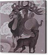 Camel With Horn Acrylic Print