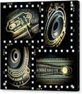 Camera Collage Acrylic Print