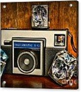 Camera - Kodak Instamatic Acrylic Print