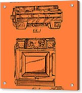 Camera Patent 1953 Acrylic Print