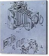Camera Patent Acrylic Print