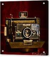 Camera - Polaroid  The Reporter Se Acrylic Print