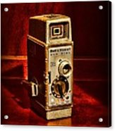 Camera - Vintage Bell And Howell Sun Dial 319 Acrylic Print