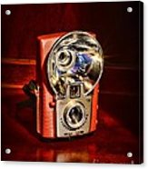 Camera - Vintage Brownie Starflash Acrylic Print