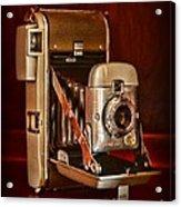 Camera - Vintage Polaroid Land Camera 80 Acrylic Print