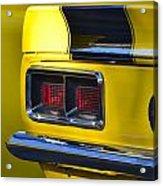 Camaro Taillight Acrylic Print