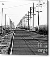 Cameron Prairie Road Acrylic Print