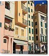 Camogli - Homes And Promenade Acrylic Print
