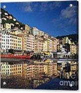 Camogli Acrylic Print by Giorgio Darrigo