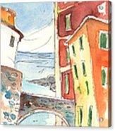 Camogli In Italy 04 Acrylic Print