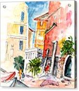 Camogli In Italy 13 Acrylic Print