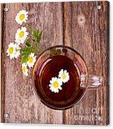 Camomile Tea Acrylic Print by Jane Rix