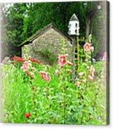 Camp Dennison Garden Acrylic Print