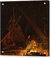 Camp Fire Acrylic Print