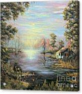 Camp On The Bayou Acrylic Print