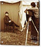 Camp Photographer Acrylic Print