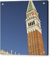 Campanile In Venice Acrylic Print