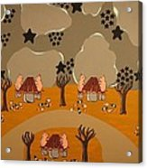 Campers Acrylic Print