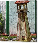 Campers Lighthouse Acrylic Print