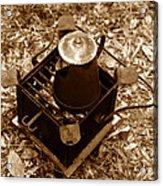 Camping Coffee Acrylic Print