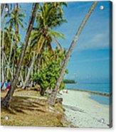 Camping In Tahiti Acrylic Print