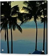 Camping Out Hawaii Style Acrylic Print