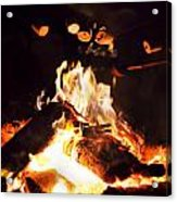 Camping Treats Acrylic Print