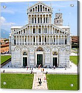 Campo Dei Miracoli - Pisa Acrylic Print