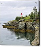 Campobello Island -  East Quoddy Lightstation Acrylic Print