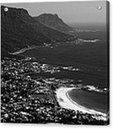 Camps Bay Cape Town Acrylic Print by Aidan Moran