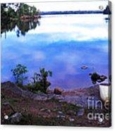 Campsite Serenity Acrylic Print