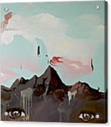 Can You See The Skull Acrylic Print