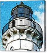 Cana Island Lighthouse Tower Acrylic Print