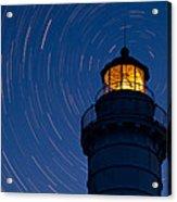Cana Island Lighthouse Solstice Acrylic Print