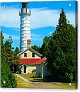 Cana Island Wi Lighthouse Acrylic Print