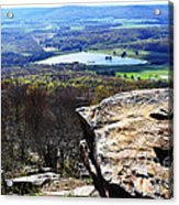 Canaan Valley From Valley View Trail Acrylic Print