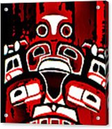 Canada - Inuit Village Totem Acrylic Print