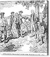 Canada: Loyalists, 1784 Acrylic Print