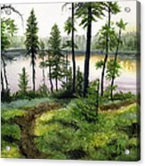 Canada Morning Acrylic Print