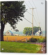 Canada Rural Scene Acrylic Print
