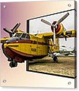 Canadair 3d Acrylic Print